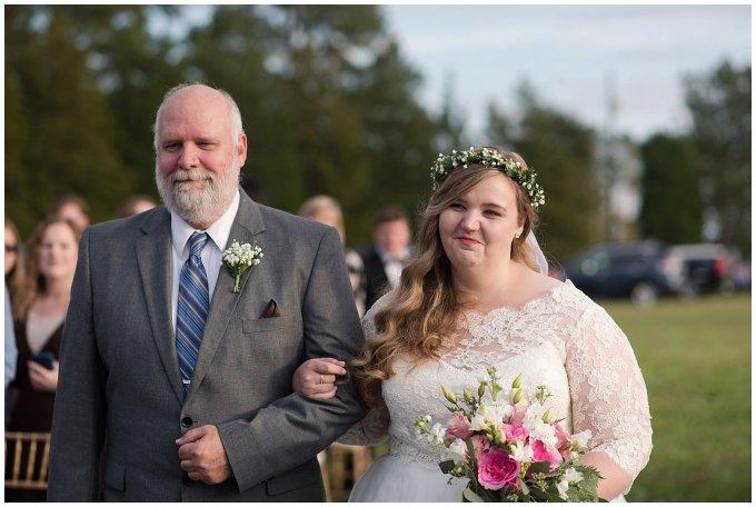 Navy Blue and Pink October Backyard North Carolina Wedding Virginia Wedding Photographers_7032