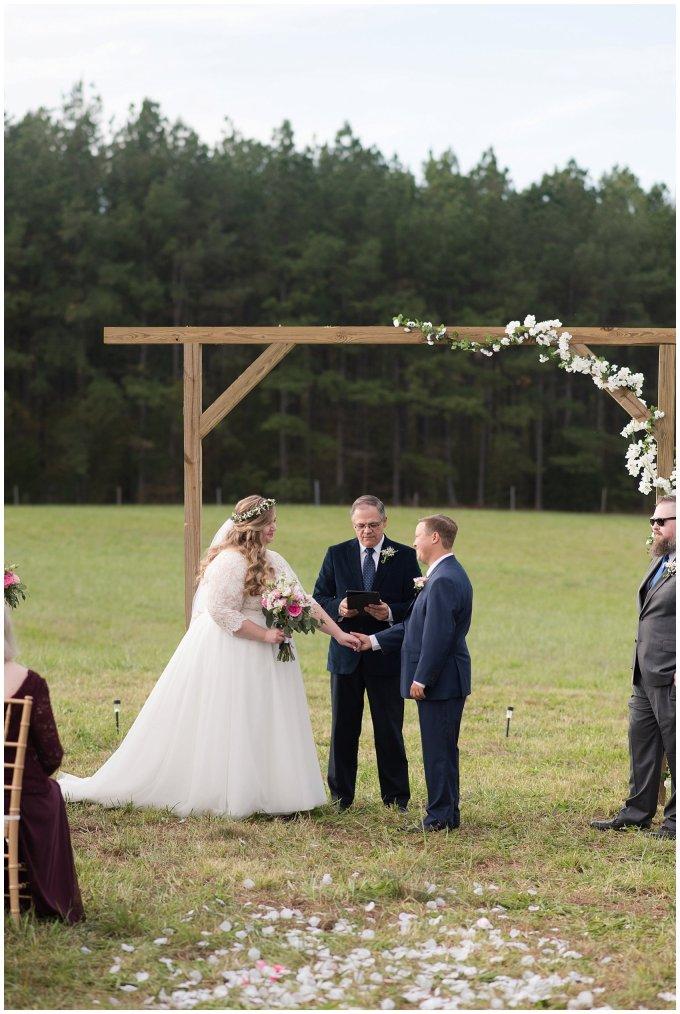 Navy Blue and Pink October Backyard North Carolina Wedding Virginia Wedding Photographers_7034