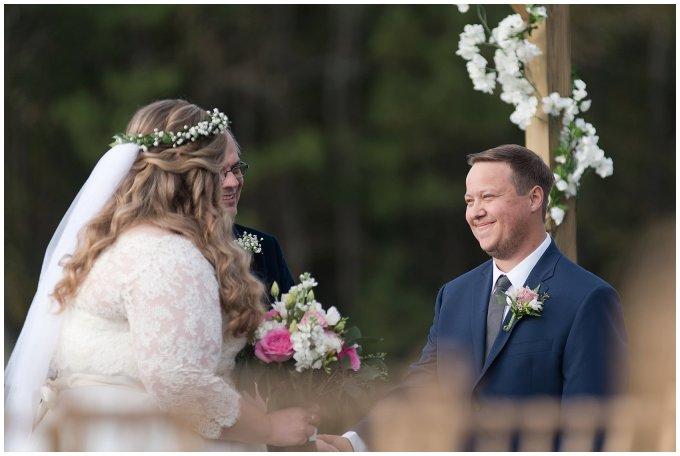 Navy Blue and Pink October Backyard North Carolina Wedding Virginia Wedding Photographers_7035
