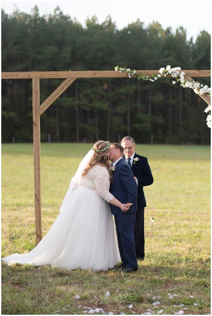 Navy Blue and Pink October Backyard North Carolina Wedding Virginia Wedding Photographers_7045