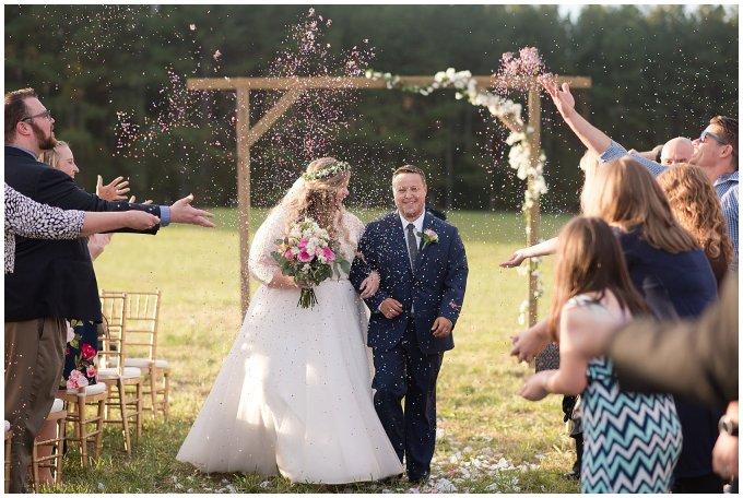 Navy Blue and Pink October Backyard North Carolina Wedding Virginia Wedding Photographers_7050