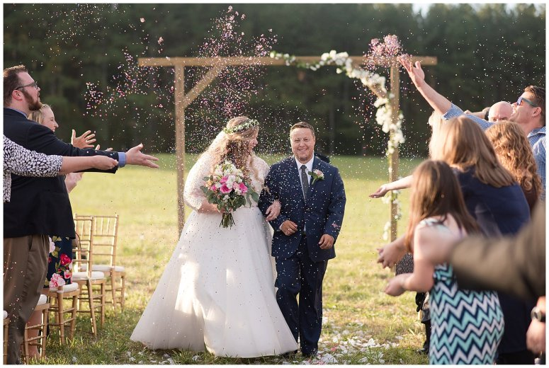 Navy Blue and Pink October Backyard North Carolina Wedding Virginia Wedding Photographers_7050