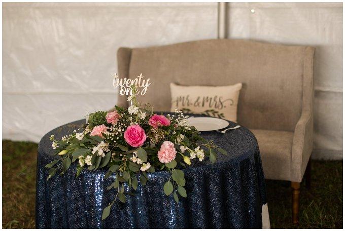 Navy Blue and Pink October Backyard North Carolina Wedding Virginia Wedding Photographers_7064