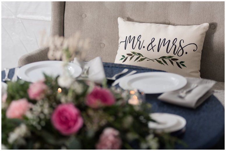 Navy Blue and Pink October Backyard North Carolina Wedding Virginia Wedding Photographers_7067