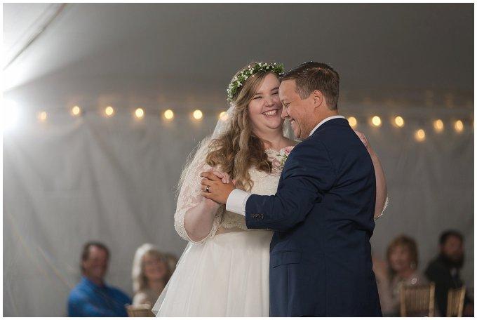 Navy Blue and Pink October Backyard North Carolina Wedding Virginia Wedding Photographers_7076