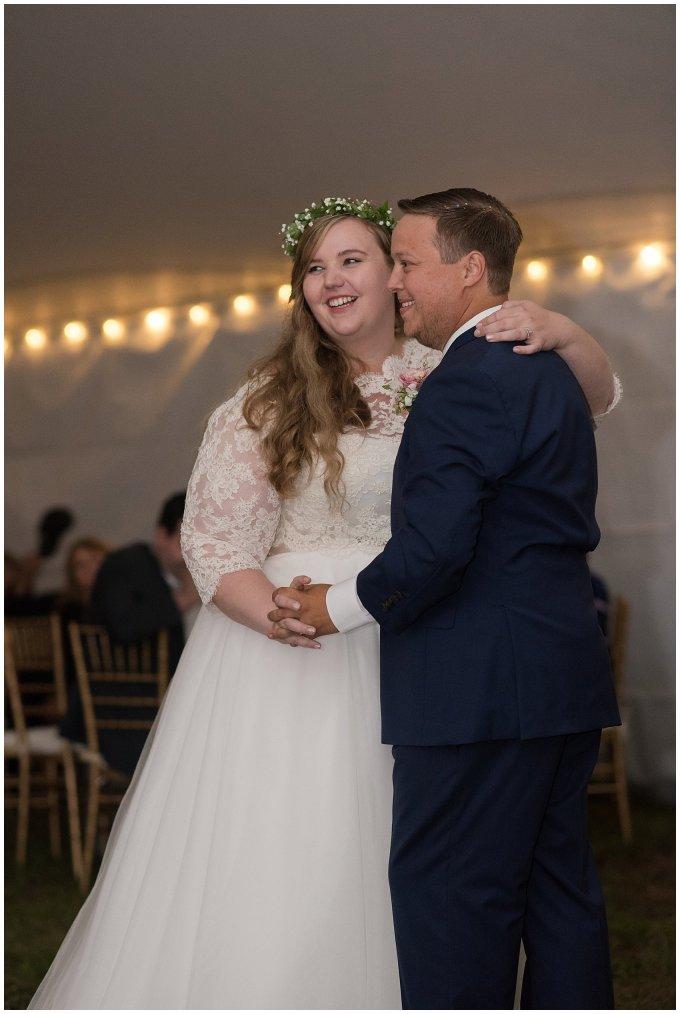 Navy Blue and Pink October Backyard North Carolina Wedding Virginia Wedding Photographers_7078