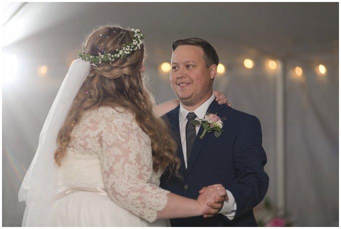 Navy Blue and Pink October Backyard North Carolina Wedding Virginia Wedding Photographers_7080