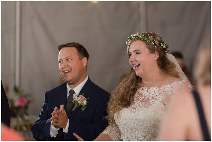 Navy Blue and Pink October Backyard North Carolina Wedding Virginia Wedding Photographers_7090