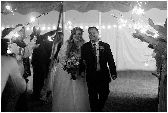 Navy Blue and Pink October Backyard North Carolina Wedding Virginia Wedding Photographers_7101
