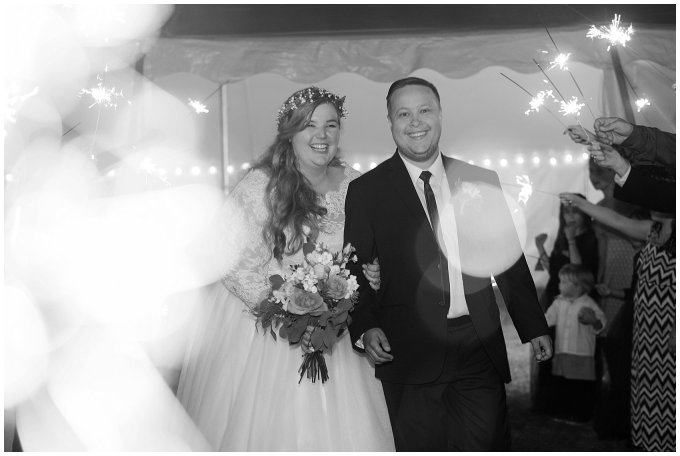 Navy Blue and Pink October Backyard North Carolina Wedding Virginia Wedding Photographers_7102