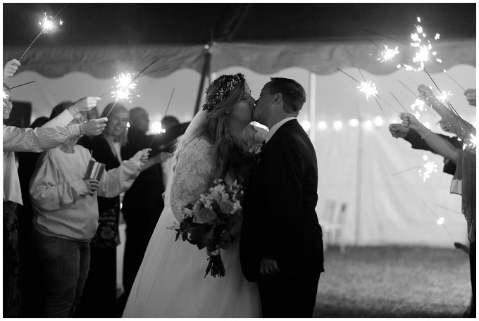 Navy Blue and Pink October Backyard North Carolina Wedding Virginia Wedding Photographers_7103