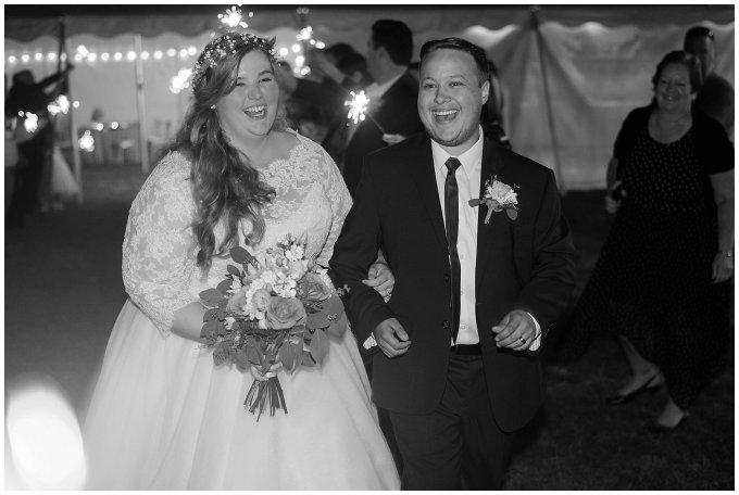 Navy Blue and Pink October Backyard North Carolina Wedding Virginia Wedding Photographers_7106