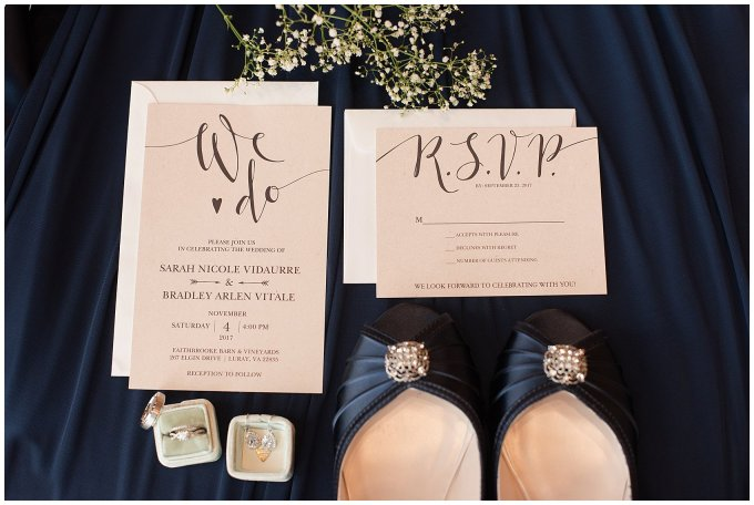 Navy Blue Blue Ridge Mountain Wedding Faithbrooke Farm Vineyard Luray Virginia Wedding Photographers_7123