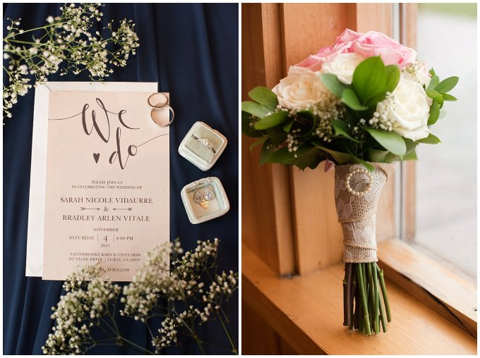 Navy Blue Blue Ridge Mountain Wedding Faithbrooke Farm Vineyard Luray Virginia Wedding Photographers_7133