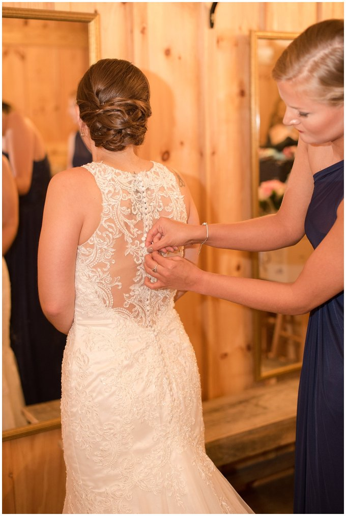 Navy Blue Blue Ridge Mountain Wedding Faithbrooke Farm Vineyard Luray Virginia Wedding Photographers_7148