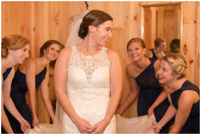 Navy Blue Blue Ridge Mountain Wedding Faithbrooke Farm Vineyard Luray Virginia Wedding Photographers_7151