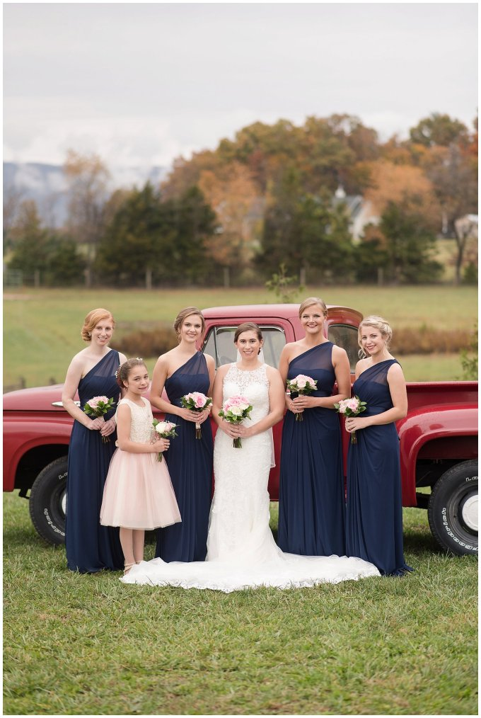 Navy Blue Blue Ridge Mountain Wedding Faithbrooke Farm Vineyard Luray Virginia Wedding Photographers_7163