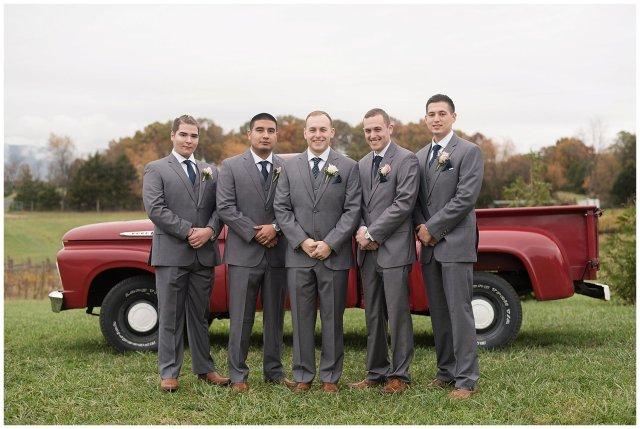 Navy Blue Blue Ridge Mountain Wedding Faithbrooke Farm Vineyard Luray Virginia Wedding Photographers_7170