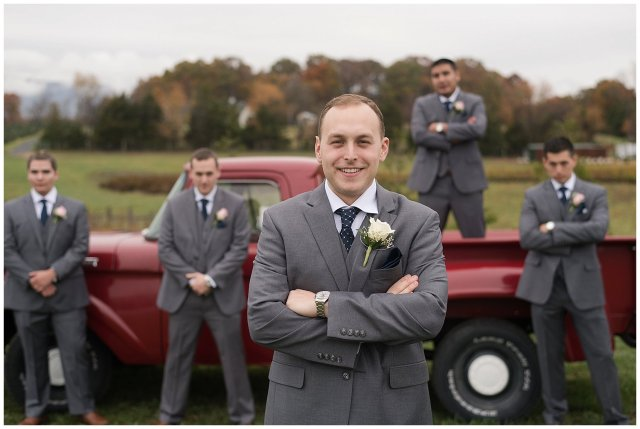 Navy Blue Blue Ridge Mountain Wedding Faithbrooke Farm Vineyard Luray Virginia Wedding Photographers_7173