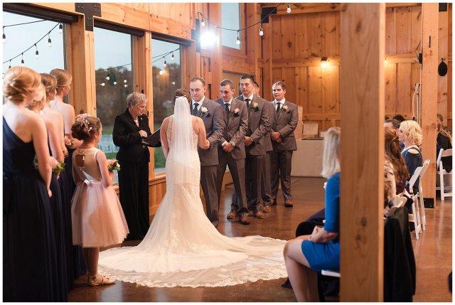 Navy Blue Blue Ridge Mountain Wedding Faithbrooke Farm Vineyard Luray Virginia Wedding Photographers_7221