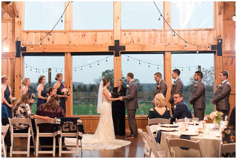 Navy Blue Blue Ridge Mountain Wedding Faithbrooke Farm Vineyard Luray Virginia Wedding Photographers_7223