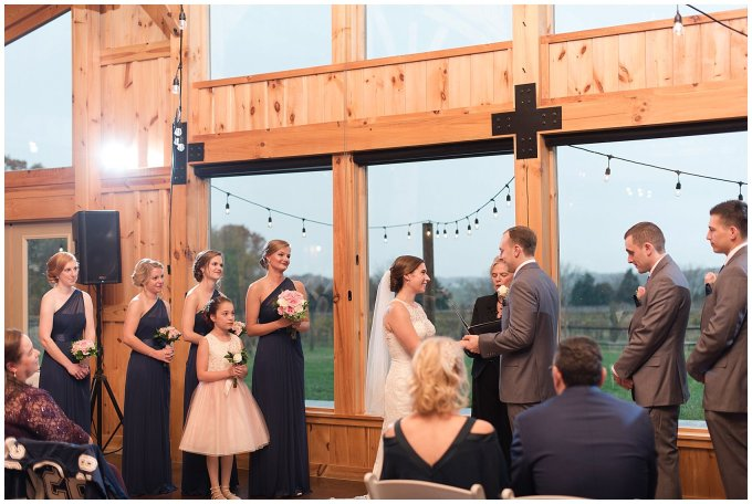 Navy Blue Blue Ridge Mountain Wedding Faithbrooke Farm Vineyard Luray Virginia Wedding Photographers_7226
