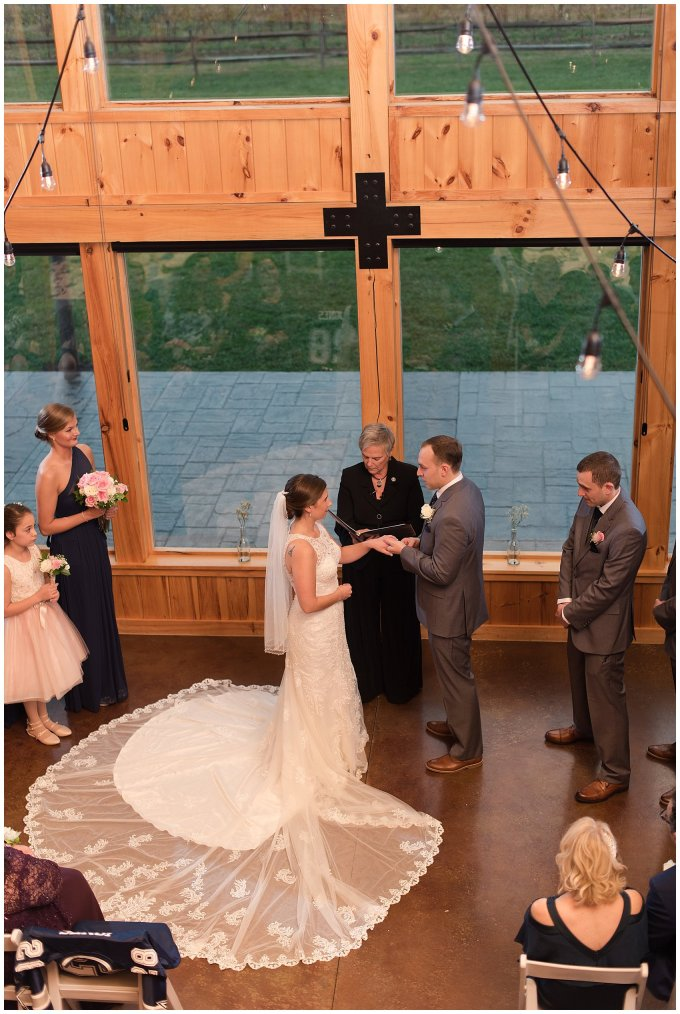 Navy Blue Blue Ridge Mountain Wedding Faithbrooke Farm Vineyard Luray Virginia Wedding Photographers_7228