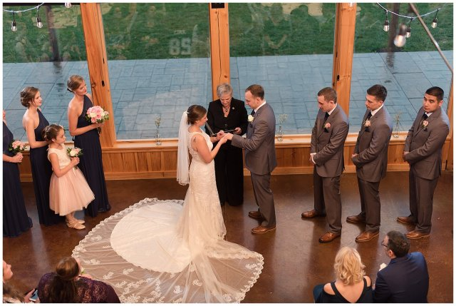 Navy Blue Blue Ridge Mountain Wedding Faithbrooke Farm Vineyard Luray Virginia Wedding Photographers_7232