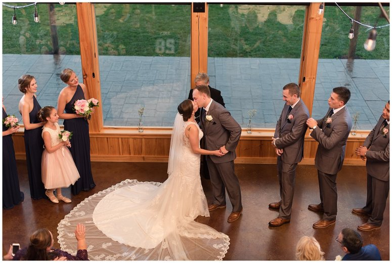 Navy Blue Blue Ridge Mountain Wedding Faithbrooke Farm Vineyard Luray Virginia Wedding Photographers_7234