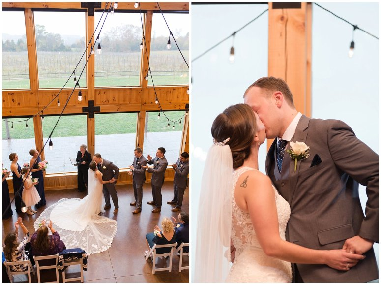 Navy Blue Blue Ridge Mountain Wedding Faithbrooke Farm Vineyard Luray Virginia Wedding Photographers_7236