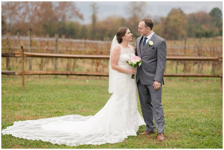 Navy Blue Blue Ridge Mountain Wedding Faithbrooke Farm Vineyard Luray Virginia Wedding Photographers_7237