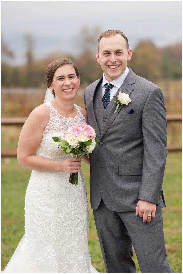 Navy Blue Blue Ridge Mountain Wedding Faithbrooke Farm Vineyard Luray Virginia Wedding Photographers_7238