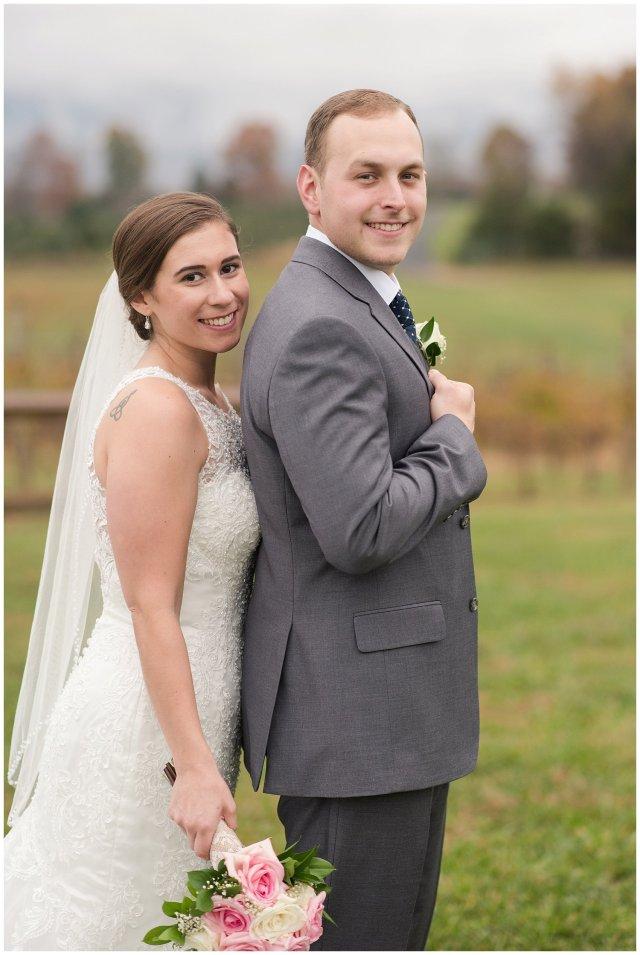 Navy Blue Blue Ridge Mountain Wedding Faithbrooke Farm Vineyard Luray Virginia Wedding Photographers_7251