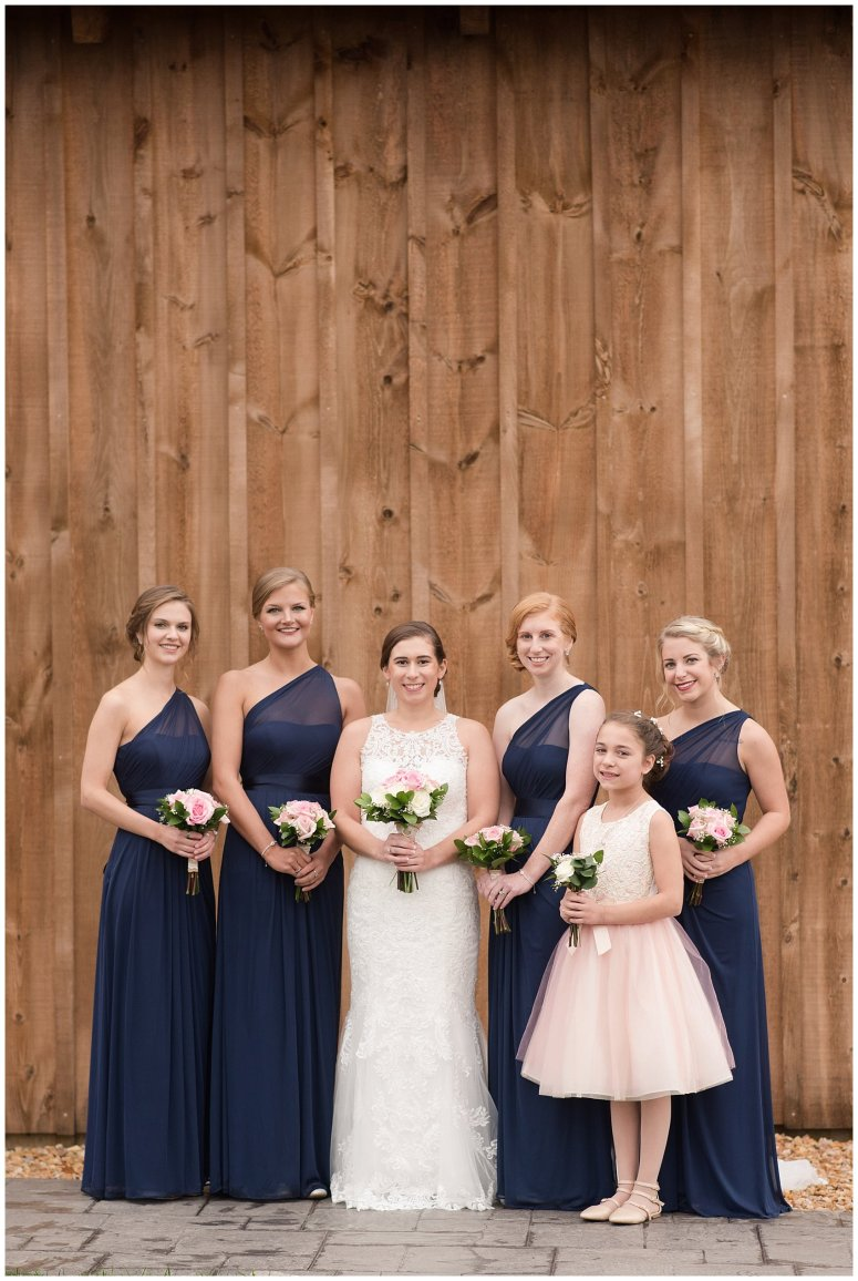 Navy Blue Blue Ridge Mountain Wedding Faithbrooke Farm Vineyard Luray Virginia Wedding Photographers_7338