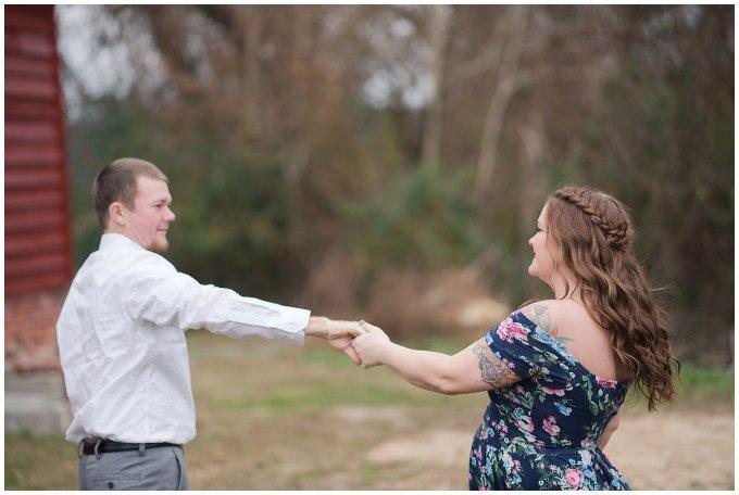 Windsor Castle Park Winter Engagement Session Virginia Wedding Photographers_7493
