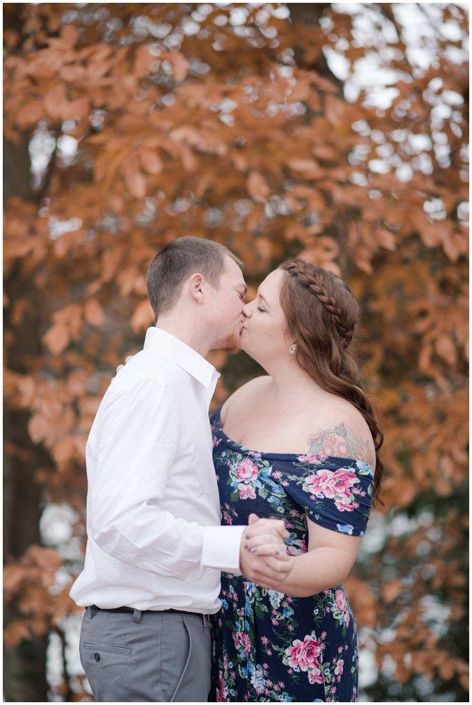 Windsor Castle Park Winter Engagement Session Virginia Wedding Photographers_7516