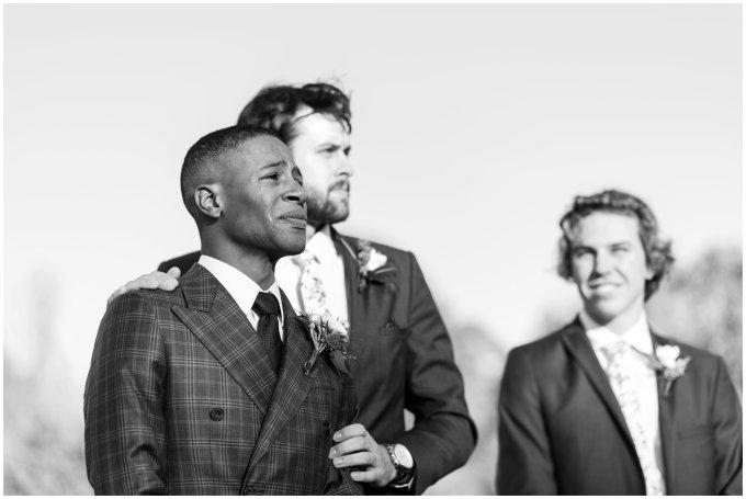 emotional-groom-reaction-virginia-wedding-photographer